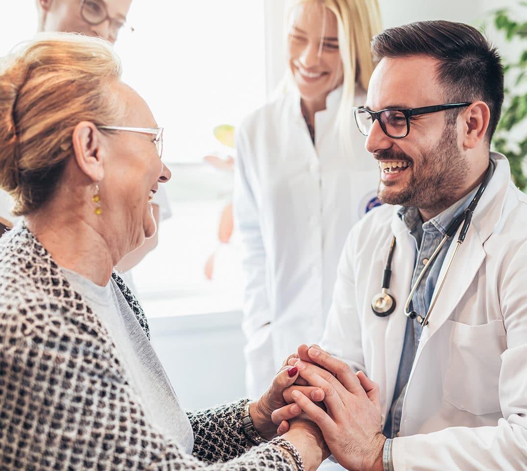 Smiling Doctor Patient